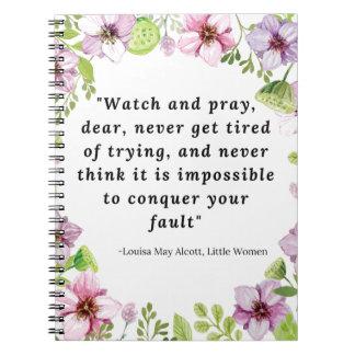 Louisa May Alcott, Little Women Quote Notebooks