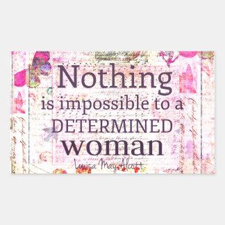 Louisa May Alcott WOMAN quote