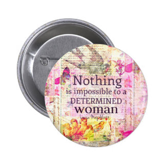 Louisa May Alcott WOMAN quote 2 Inch Round Button