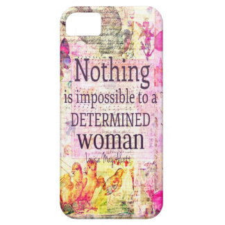 Louisa May Alcott WOMAN quote iPhone 5 Covers