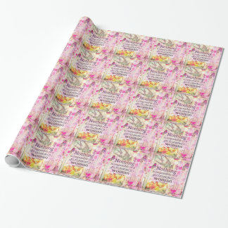 Louisa May Alcott WOMAN quote Wrapping Paper