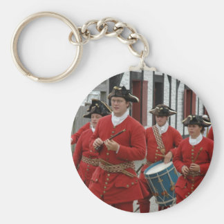 Louisbourg Fortress Parade Basic Round Button Keychain