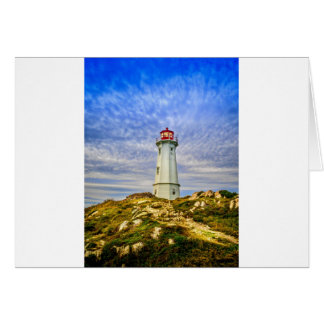 Louisbourg Lighthouse Card