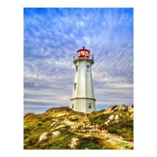 Louisbourg Lighthouse Letterhead