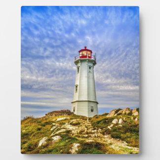 Louisbourg Lighthouse Plaque