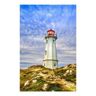 Louisbourg Lighthouse Stationery