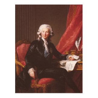 Louise Elisabeth Brun-Portrait of Charles Calonne Postcard