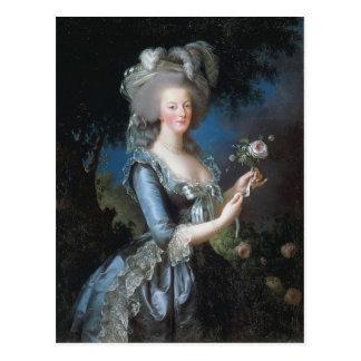 Louise Elisabeth -Queen Marie Antoinette of France Postcard