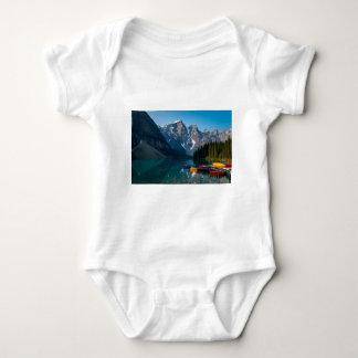 Louise lake in Banff national park Alberta, Canada Baby Bodysuit