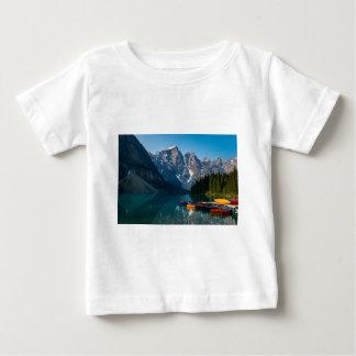 Louise lake in Banff national park Alberta, Canada Baby T-Shirt