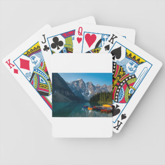 Louise lake in Banff national park Alberta, Canada Bicycle Playing Cards