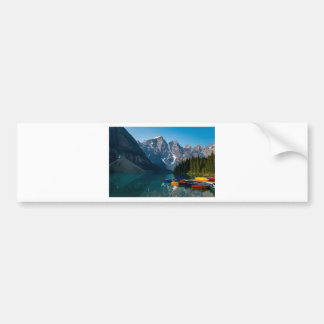 Louise lake in Banff national park Alberta, Canada Bumper Sticker