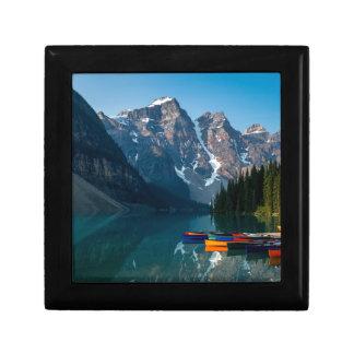 Louise lake in Banff national park Alberta, Canada Gift Box