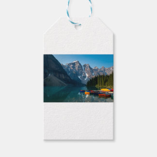 Louise lake in Banff national park Alberta, Canada Gift Tags