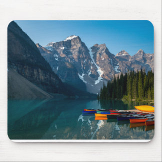 Louise lake in Banff national park Alberta, Canada Mouse Pad
