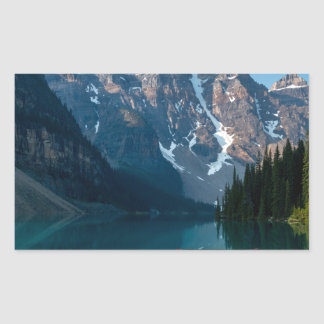 Louise lake in Banff national park Alberta, Canada Sticker