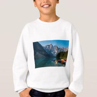 Louise lake in Banff national park Alberta, Canada Sweatshirt