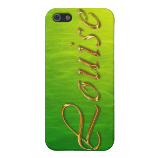 LOUISE Name Branded iPhone Cover Cover For iPhone 5/5S