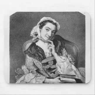 Louise Tardieu d'Esclavelles Mouse Pad