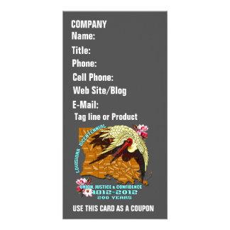 Louisiana Bicentennial 1812-2012 Please View Hints Custom Photo Card