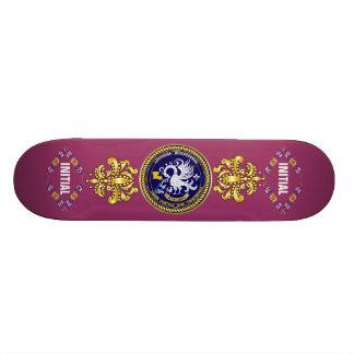 Louisiana Bicentennial Mardi Gras Logo View Hint Skateboard Decks
