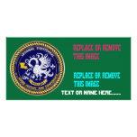 Louisiana Bicentennial Mardi Gras View Hints Customized Photo Card