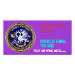 Louisiana Bicentennial Mardi Gras View Hints Photo Greeting Card