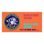 Louisiana Bicentennial Mardi Gras View Hints Personalized Photo Card