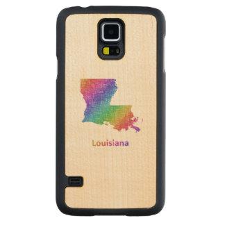 Louisiana Carved Maple Galaxy S5 Case