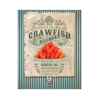 Louisiana Crawfish Canvas Print