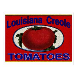 Louisiana Creole Tomatoes Postcard