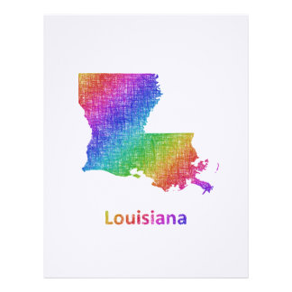 Louisiana Custom Letterhead