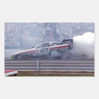 Louisiana Drag Racing Sticker