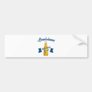 Louisiana Drinking team Bumper Sticker