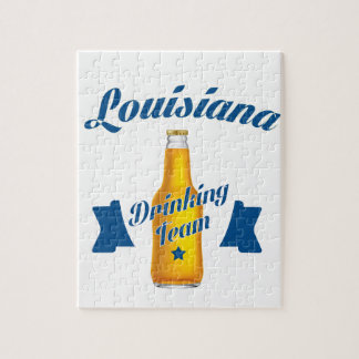 Louisiana Drinking team Puzzles