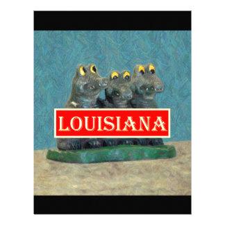 Louisiana Gators Painting 1.jpg Letterhead Design
