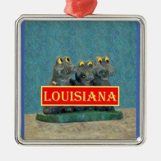 Louisiana Gators Painting 1.jpg Metal Ornament