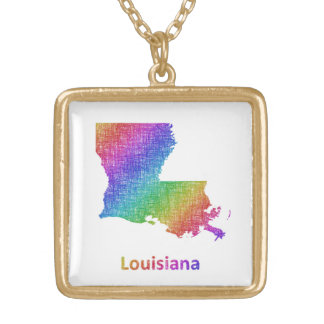 Louisiana Gold Plated Necklace
