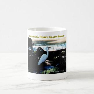 Louisiana Honey Island Swamp Coffee Mug Egret