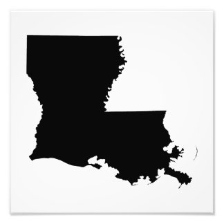 Louisiana in Black and White Photographic Print