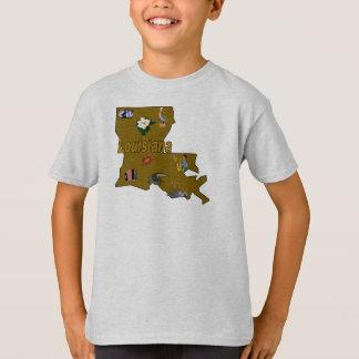 Louisiana Kid's T-Shirt
