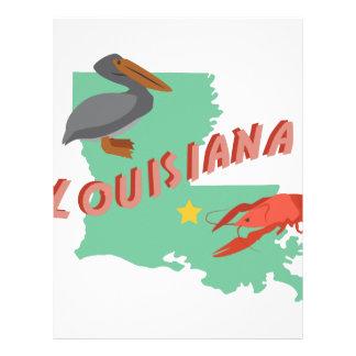 Louisiana Letterhead Design