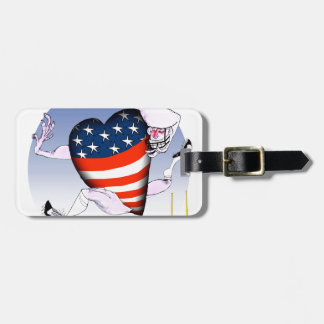 louisiana loud and proud, tony fernandes luggage tag