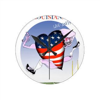 louisiana loud and proud, tony fernandes round clock