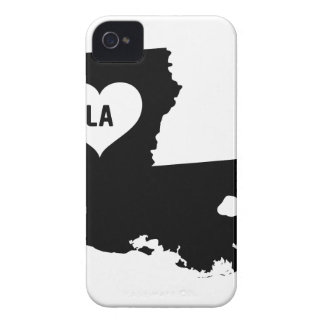 Louisiana Love iPhone 4 Case-Mate Cases