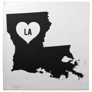 Louisiana Love Napkin