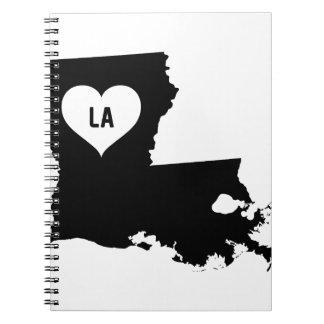 Louisiana Love Notebooks
