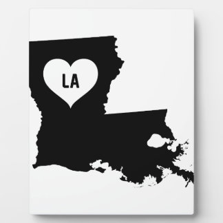 Louisiana Love Plaque