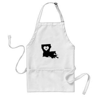 Louisiana Love Standard Apron