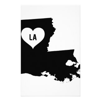 Louisiana Love Stationery